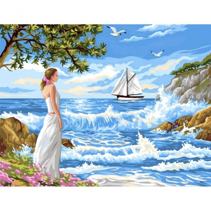 Painting by Numbers - Whispering Shores kit