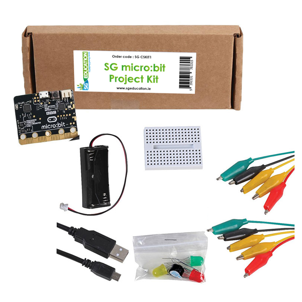 SG Micro:bit Project Kit (includes Micro:bit)